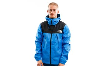 Foto van The North Face Jacket Men's 1990 Mountain Q Jacket Clear Lake Blue NF0A2S51W8G