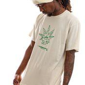 HUF T-shirt Easy Green S/S Tee Naturel TS01605