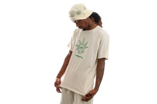 Foto van HUF T-shirt Easy Green S/S Tee Naturel TS01605