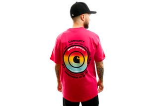 Foto van Carhartt T-shirt S/S Worldwide T-Shirt Ruby Pink I027758