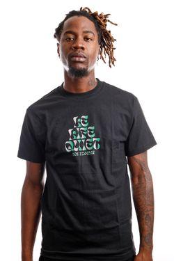 Afbeelding van Quiet Life T-shirt QUIET LIFE PSYCH Black QL-19FAD1-1154