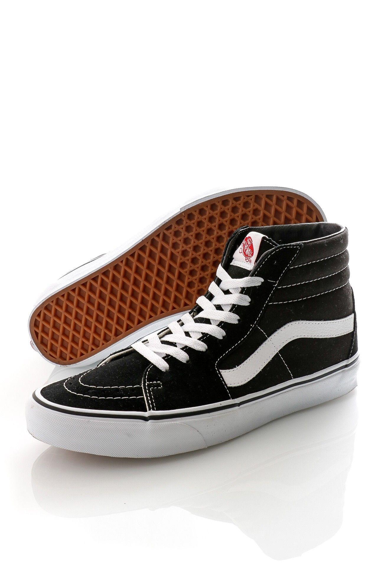 Afbeelding van Vans Classics Sneakers Sk8-Hi Black/White VN000D5IB8C1