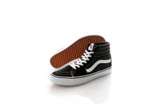 Foto van Vans Classics Sneakers Sk8-Hi Black/White VN000D5IB8C1
