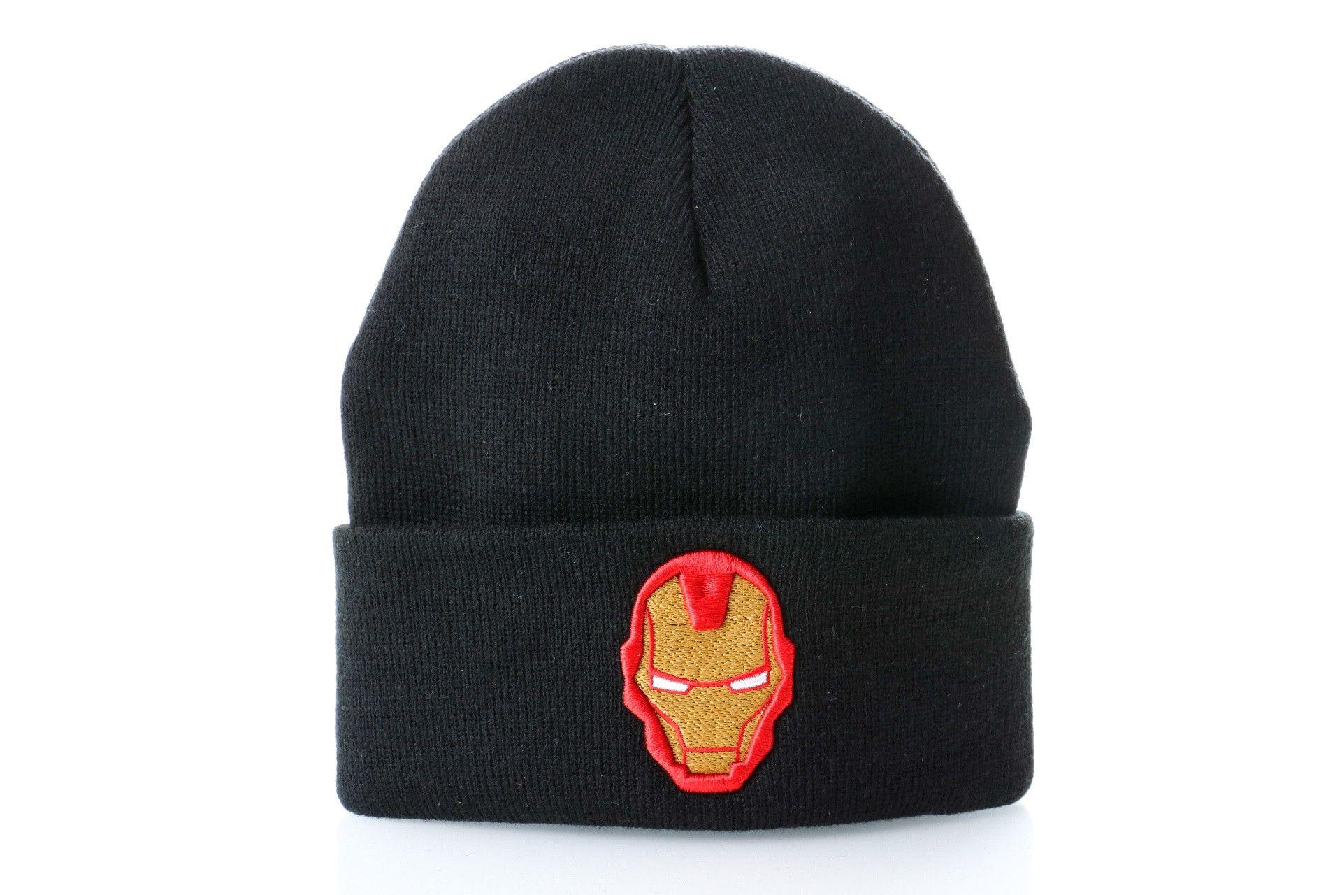 Afbeelding van Leftside Muts Iron Man Black/colors