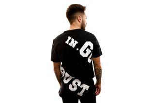 Foto van In Gold We Trust T-shirt The Offset Black / White IGWTT-002-WBS