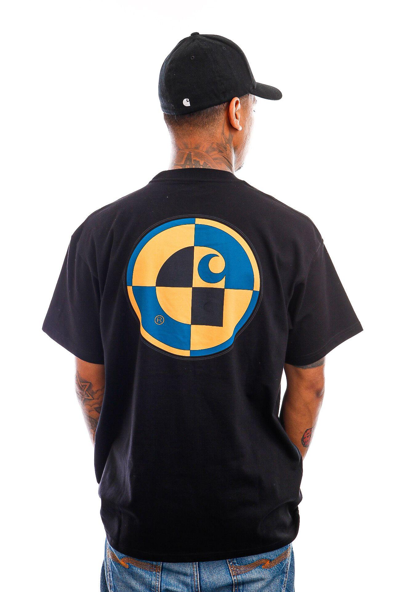 Afbeelding van Carhartt T-Shirt S/S Test T-Shirt Black I029940