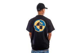 Foto van Carhartt T-Shirt S/S Test T-Shirt Black I029940