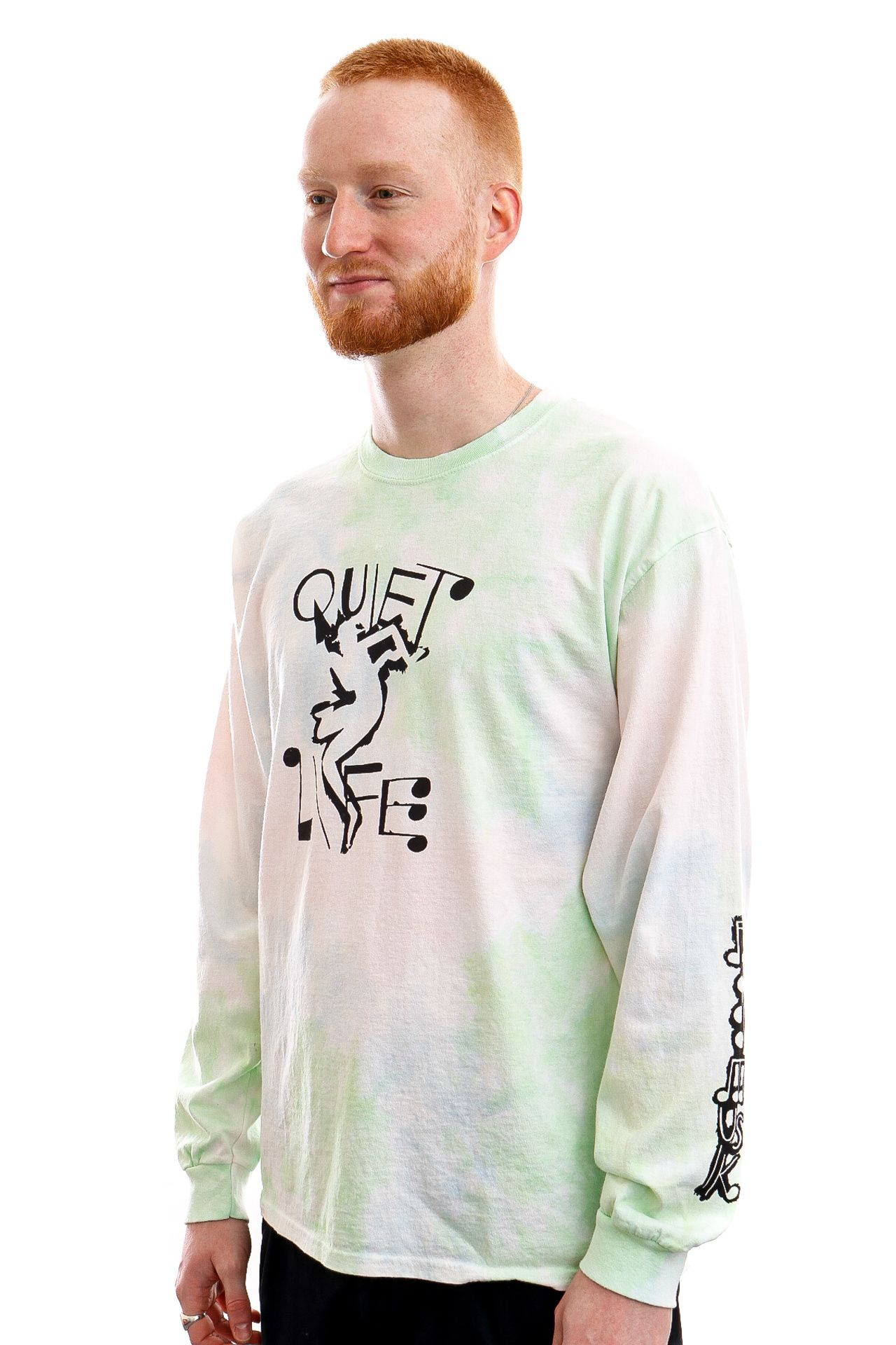 Afbeelding van The Quiet Life Longsleeve Jazzy Long Sleeve Tie Dye QL-21SPD1-1132