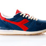 Diadora Sneakers Camaro Used Dark Denim/Ferrari Red Italy 501175500