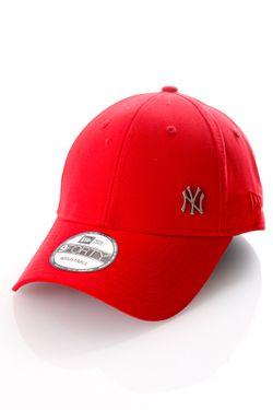 Afbeelding van New Era Dad Cap MLB Flawless Logo Basic 940 Neyyan Scarlet 11198847