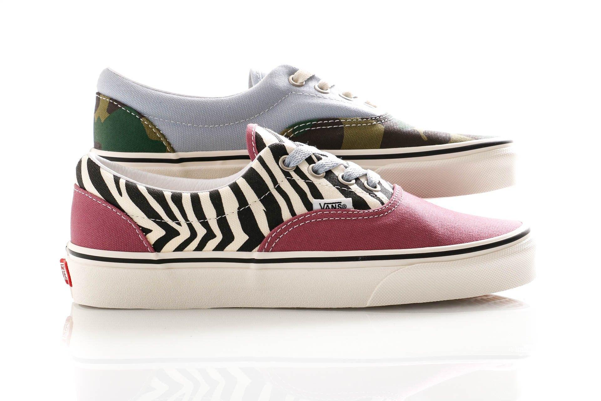 Afbeelding van Vans Sneakers Ua Era (Mismatch) Zebra/Camo VN0A4U39WS81