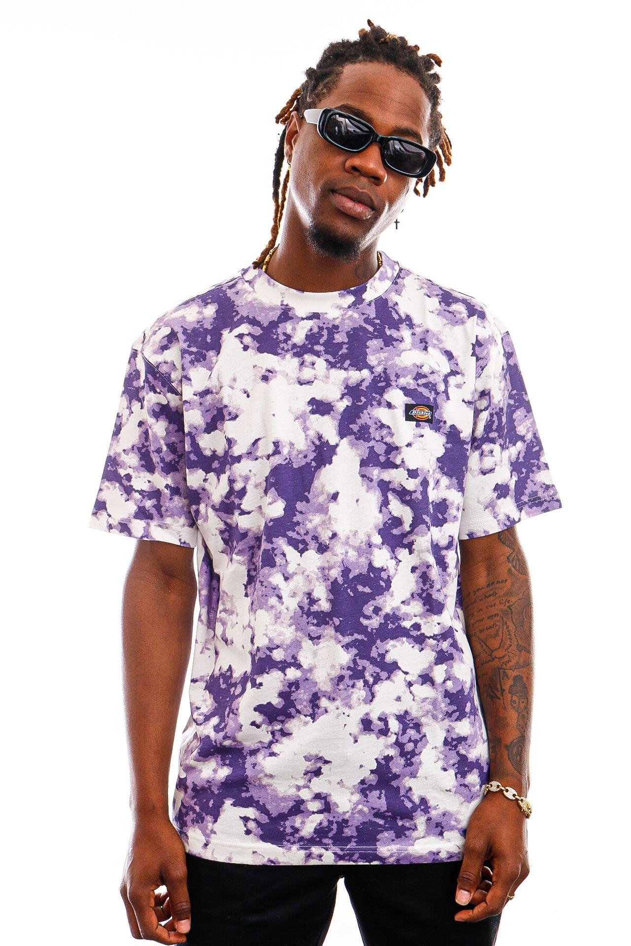 Afbeelding van Dickies T-Shirt Sunburg Tee Purple Gumdrop DK0A4X9PB651