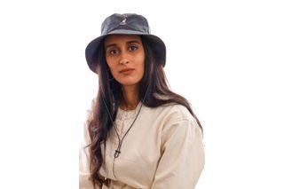 Foto van Kangol Bucket Iridescent Jungle Hat Ink K5298