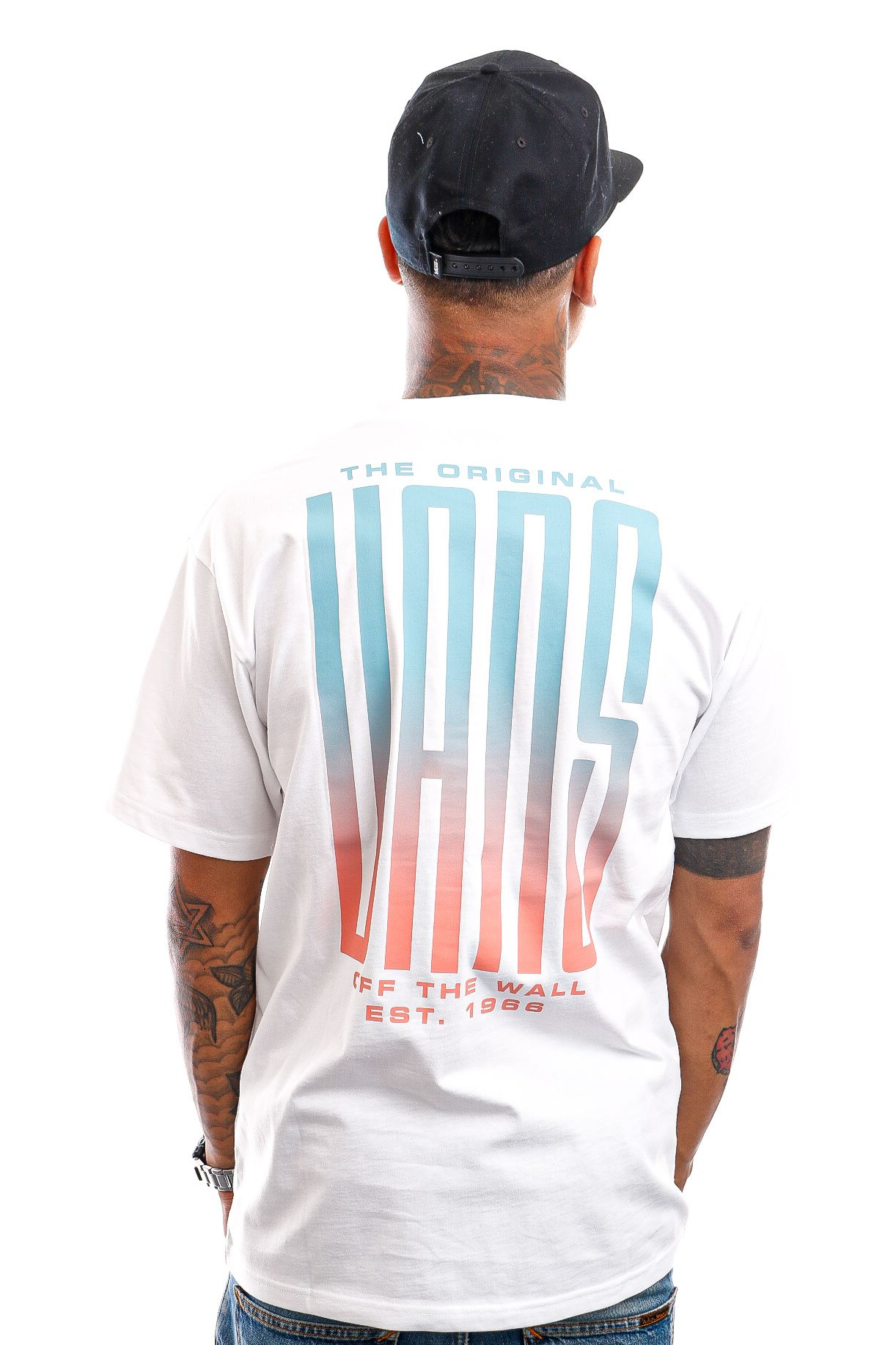 Afbeelding van Vans T-Shirt Stretched White VN0A5E7XWHT1