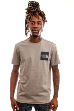 Afbeelding van The North Face T-shirt Men's S/S Fine Tee Mineral Grey NF00CEQ5VQ81