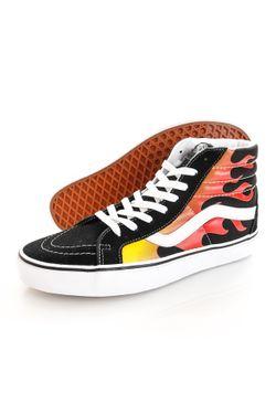 Afbeelding van Vans Sneakers UA SK8-Hi Reissue (FLAME) Black/Black/True White VN0A2XSBPHN1