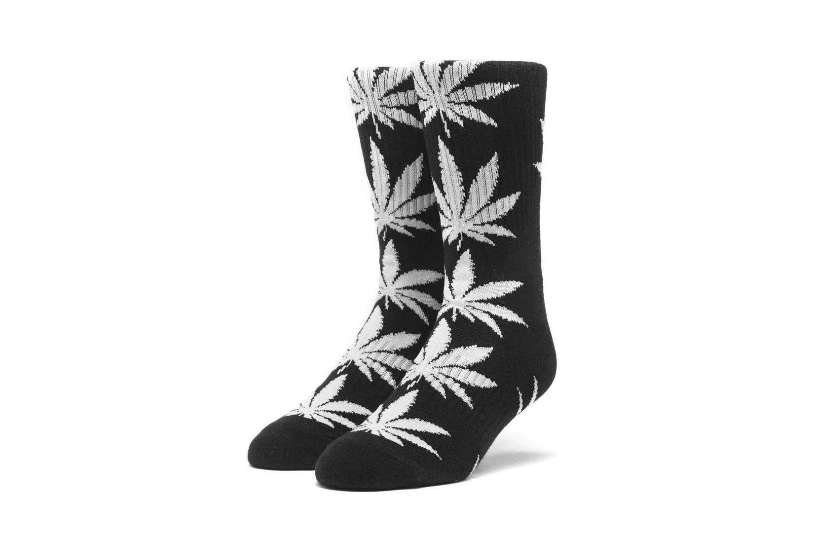 Afbeelding van HUF Sokken Plantlife Socks Black SK00298-BLACK