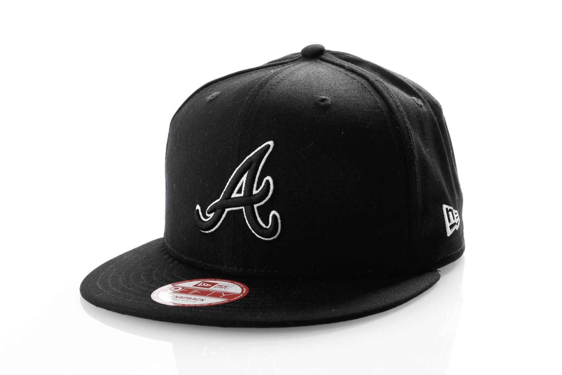Afbeelding van New Era Snapback Cap Atlanta Braves Essential Outline 11269192