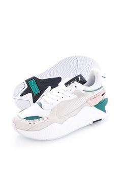 Afbeelding van Puma Sneakers RS-X Reinvent Wn's Puma White-Blue Spruce 37100813