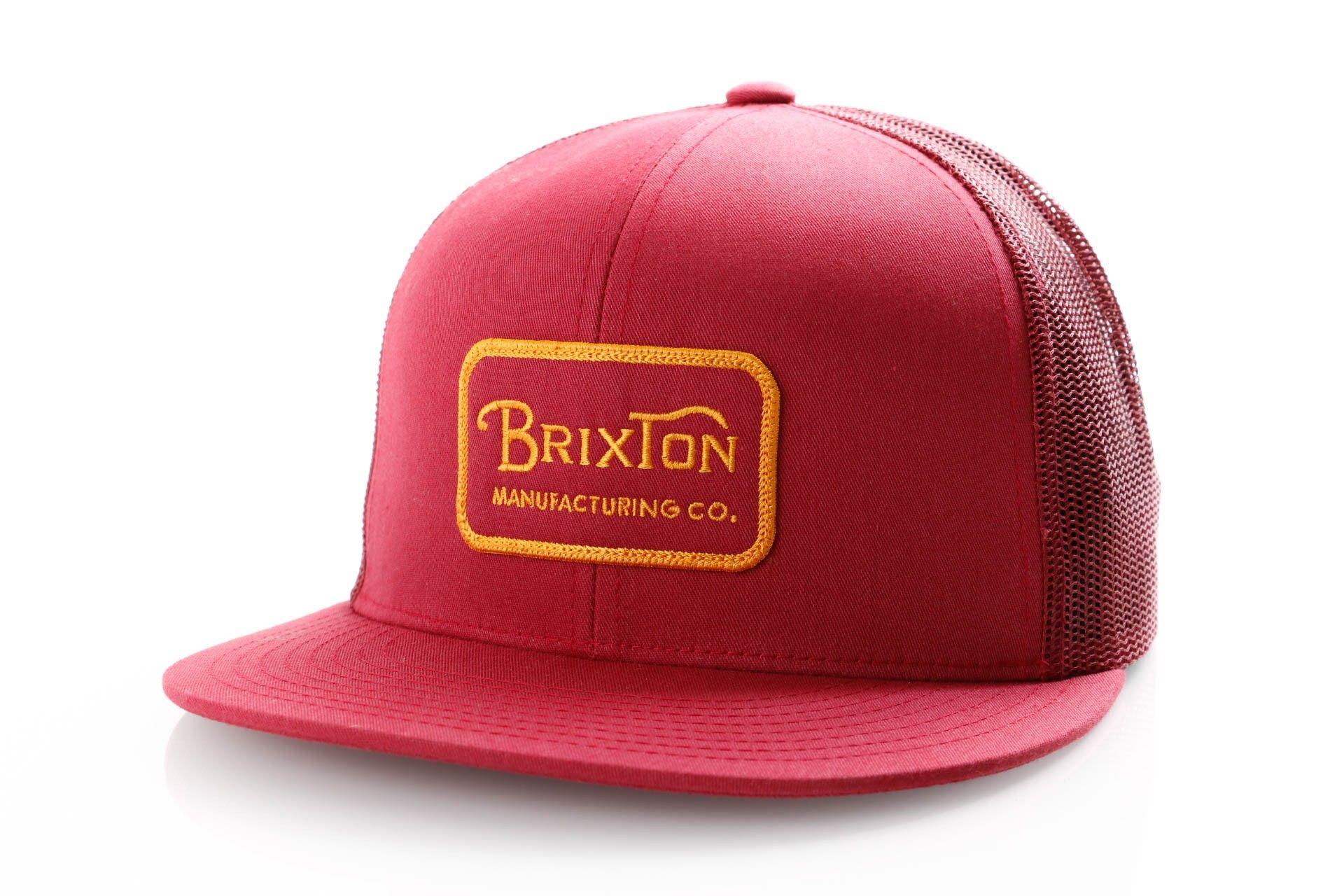 Afbeelding van Brixton Grade Mesh Cap 232 Trucker Cap Burgundy/Burgundy