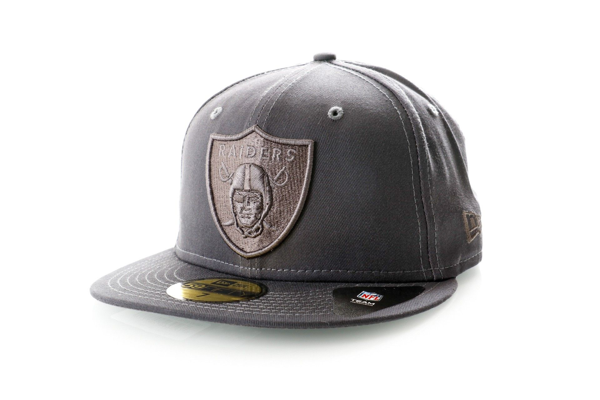 Afbeelding van New Era Fitted Cap Oakland Raiders Team Tonal NFL 59Fifty 12040197