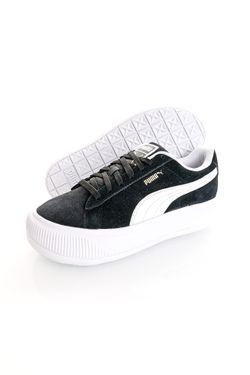 Afbeelding van Puma Sneakers Suede Mayu Puma Black-Puma White 38068602