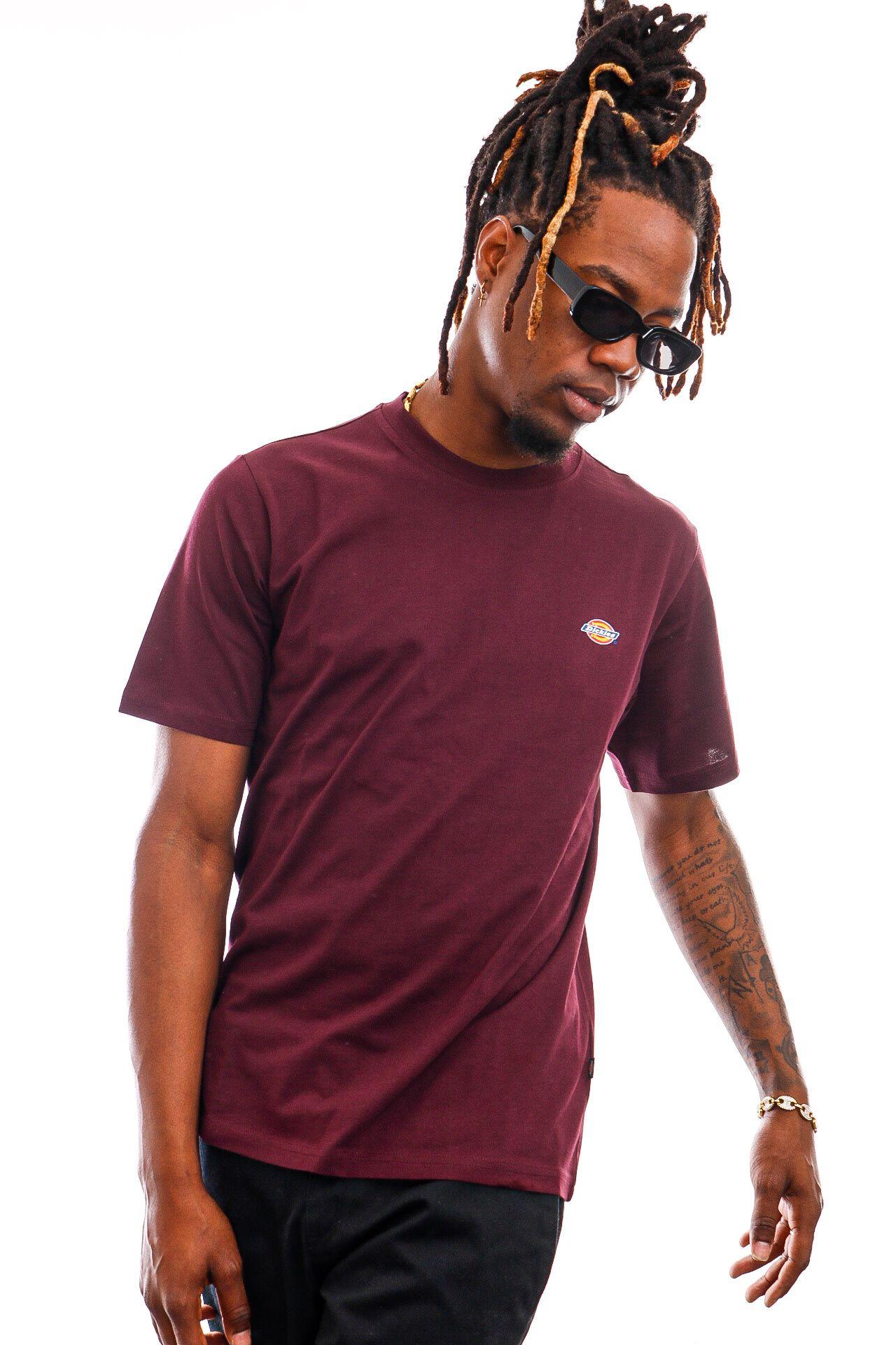 Afbeelding van Dickies T-shirt Ss Mapleton Tee Maroon DK0A4XDBMR01
