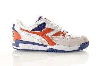 Foto van Diadora Rebound Ace Beta 501175499 Sneakers White/Burnt Orange