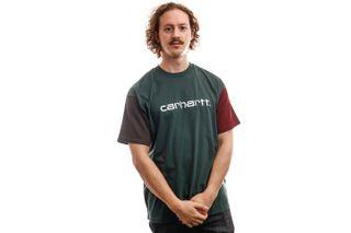 Foto van Carhartt T-Shirt S/S Carhartt Tricol T-Shirt Dark Teal I028359
