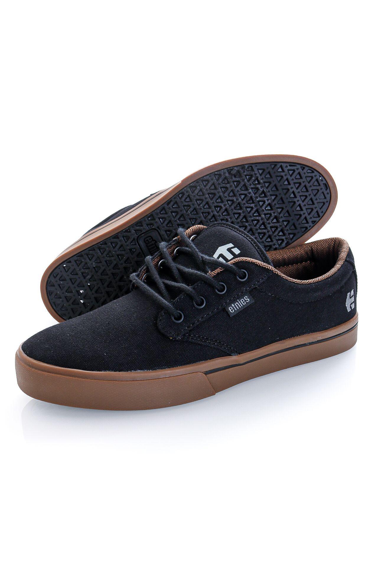 Afbeelding van Etnies Sneakers JAMESON 2 ECO BLACK/CHARCOAL/GUM 4101000323