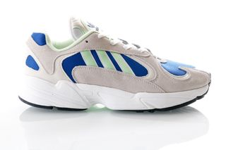 Foto van Adidas Yung-1 Ee5318 Sneakers Ftwr White/Glow Green/Collegiate Royal