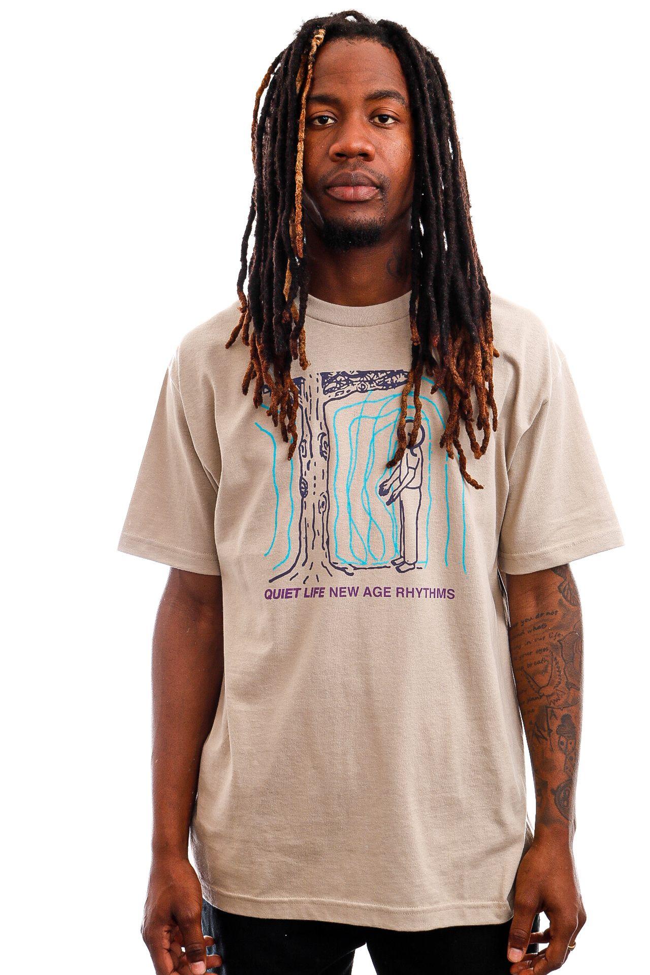 Afbeelding van The Quiet Life T-shirt New Age Rhythms Tee Sand QL-21SPD2-2129