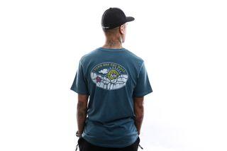 Foto van Vans T-Shirt Mn Vintage Sun Faded Ss Stargazer VN0A49PQ12S1