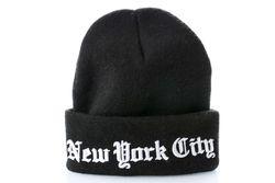 Afbeelding van Leftside Muts New York City Black/White