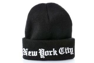 Foto van Leftside Muts New York City Black/White