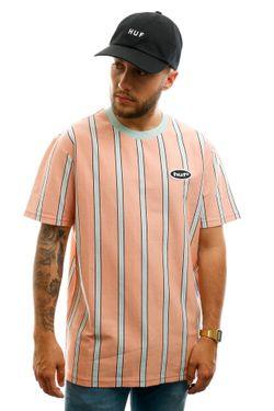Afbeelding van HUF T-shirt Jerome Yds S/S Knit Top Coral Pink KN00167-CLPNK