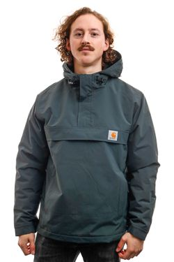 Afbeelding van Carhartt Jacket Nimbus Pullover Dark Teal I028435