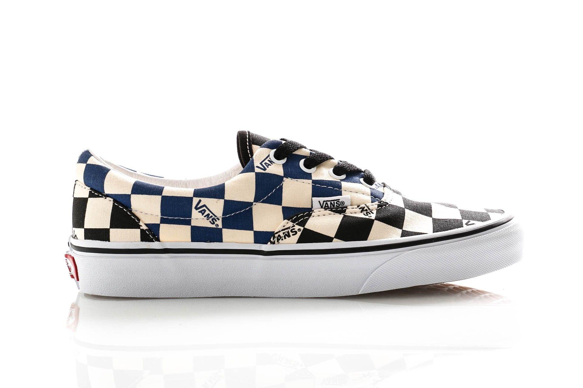Afbeelding van Vans Sneakers Ua Era (Big Check) Black/Navy VN0A4U39WRT1