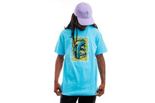 Foto van The Quiet Life T-shirt Farley Tee Pacific Blue QL-21SPD2-2126