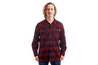 Foto van Dickies Overhemd Sacramento Shirt Maroon DK0A4X8NMR01