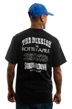 Afbeelding van HUF T-shirt Hoods S/S Tee Black TS01012-BLACK