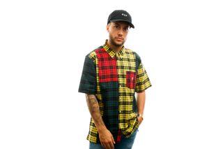 Foto van HUF Overhemd Disorder S/S Woven Shirt Multi BU00067-MULTI