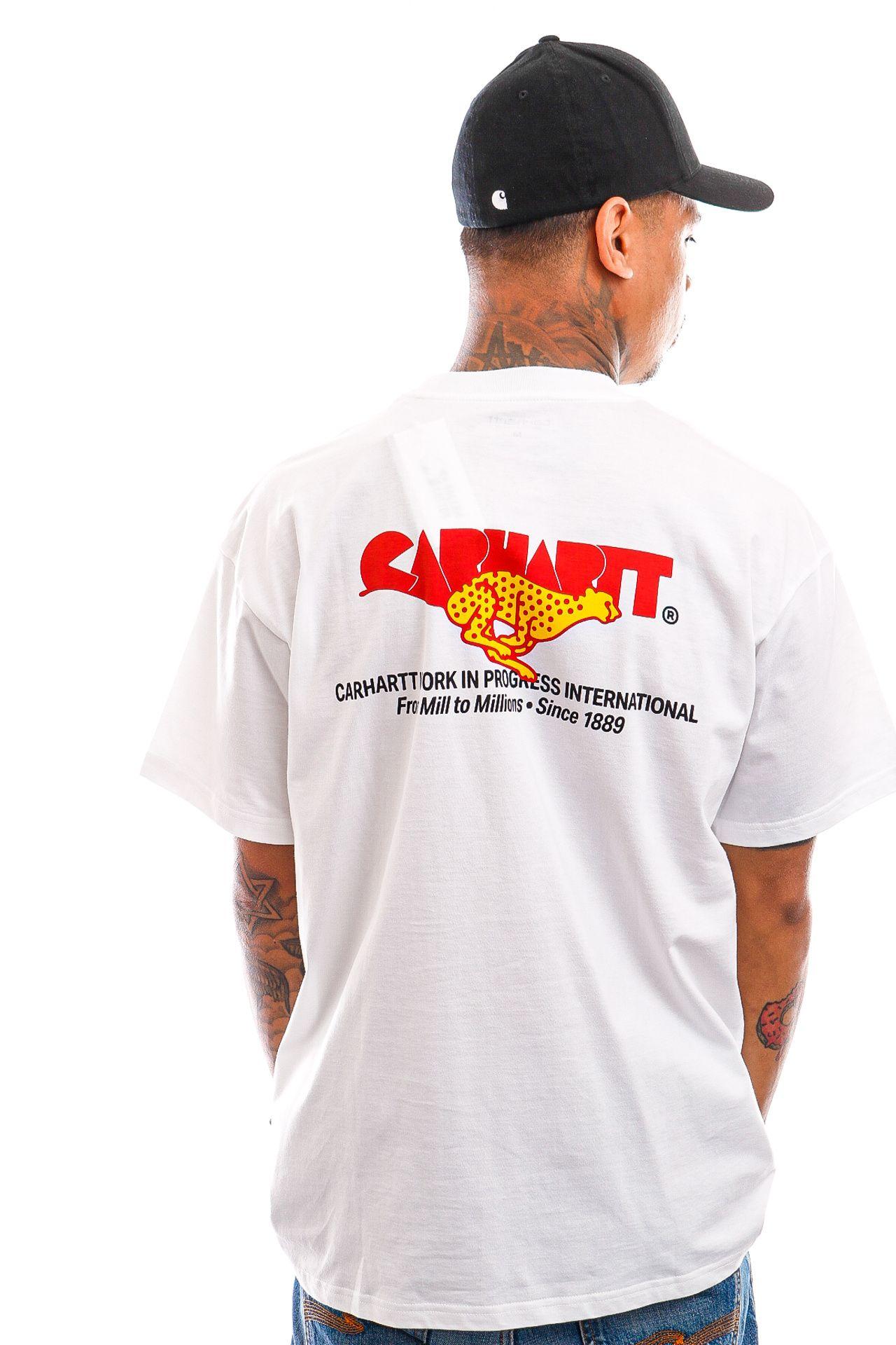 Afbeelding van Carhartt T-shirt S/S Runner T-Shirt White I029934
