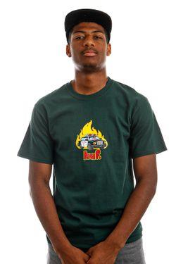 Afbeelding van HUF T-Shirt HUF ROASTED S/S Dark Green TS01506