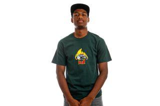 Foto van HUF T-Shirt HUF ROASTED S/S Dark Green TS01506