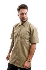 Dickies Overhemd Short Sleeve Work Shirt Khaki DK001574