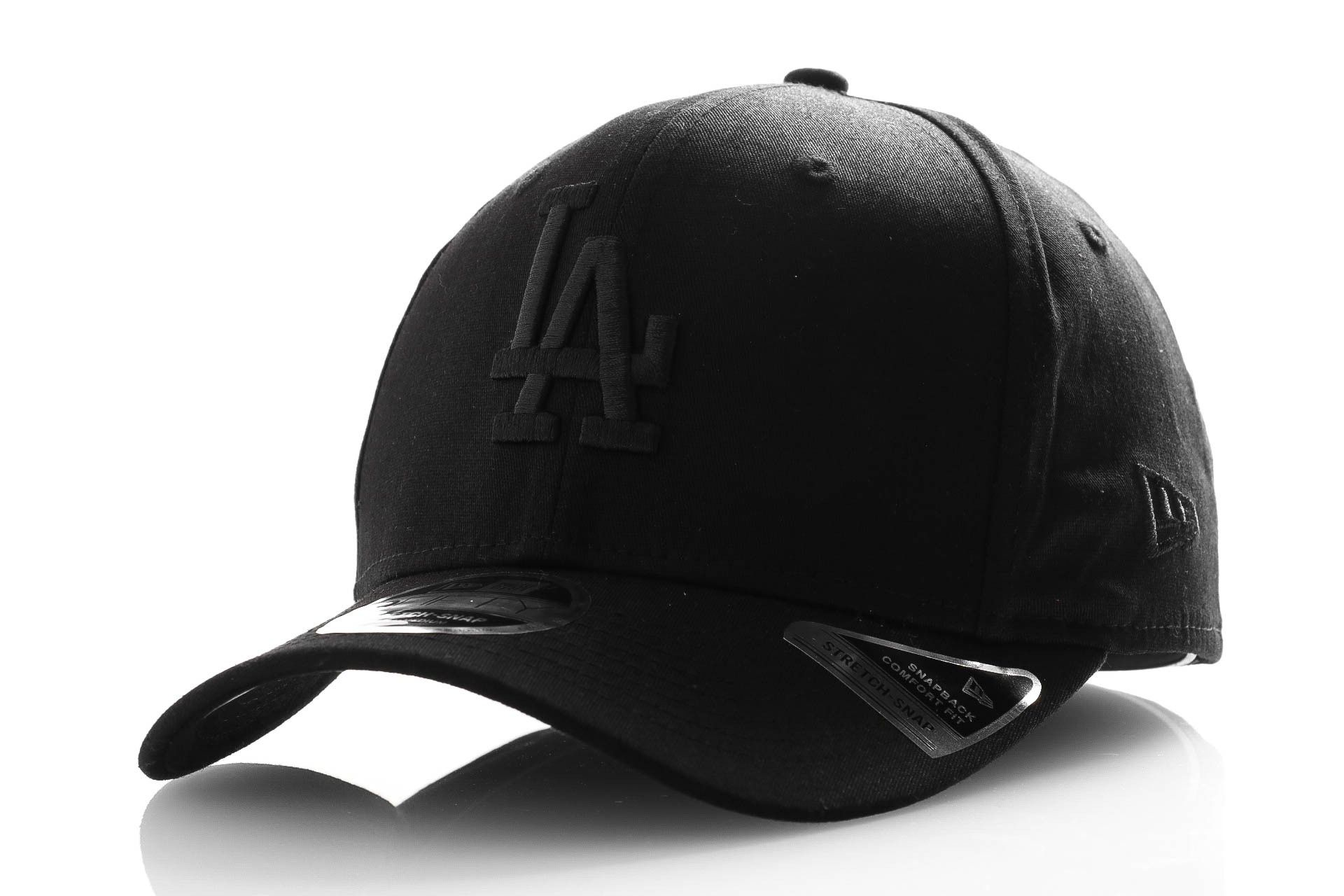 Afbeelding van New Era Snapback Cap Tonal Black 9Fifty Stretch Snap Blk 12285244