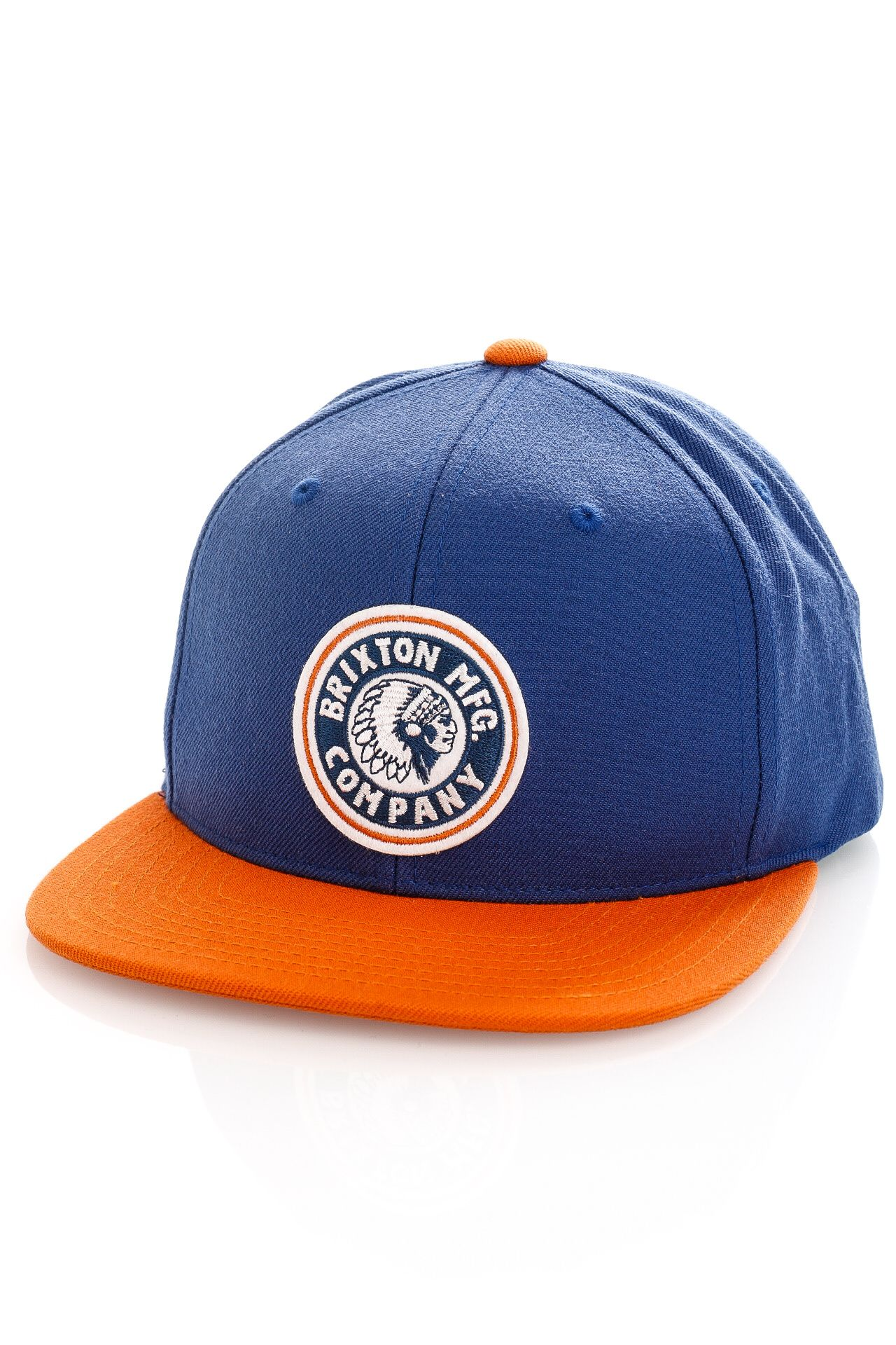 Afbeelding van Brixton Snapback Rival MP Snapback Joe Blue/Burnt Orange 10856