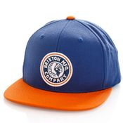 Brixton Snapback Rival MP Snapback Joe Blue/Burnt Orange 10856