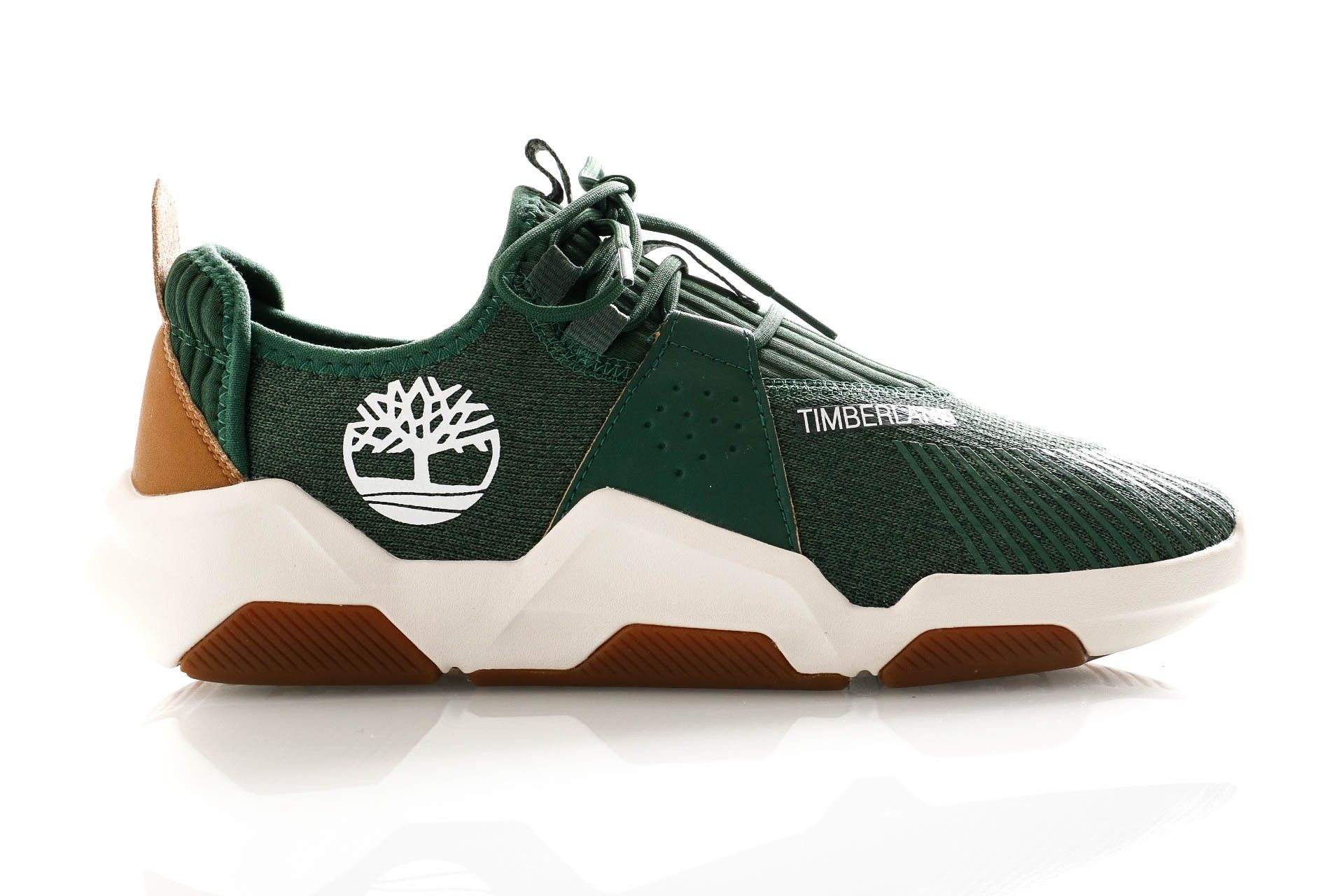Afbeelding van Timberland Sneakers Earth Rally Flexiknit Ox Dark Green Knit TB0A29TXY181